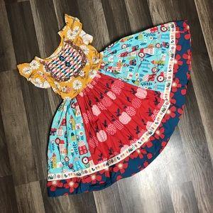 Wildflower Dresses - EUC wildflowers ballet dress